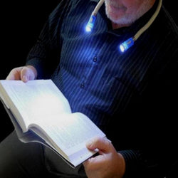 Hands-free Flexible LED Neck Lamp