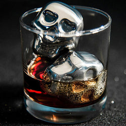 Skull Whiskey & Drink Stone Cooler