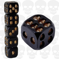 Devil's Game Skull Dice (5 pcs) Set