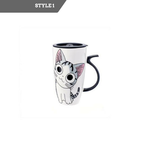 Creative Cat Ceramic Mug