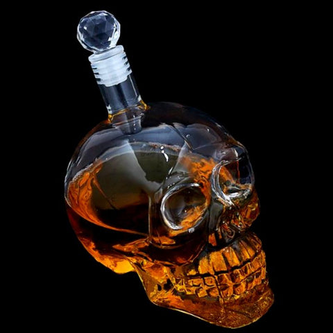 Crystal Skull Bottle