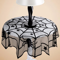 Spider Web Table Cloth