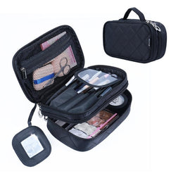 Multi-layer Cosmetics & Toiletries Bag