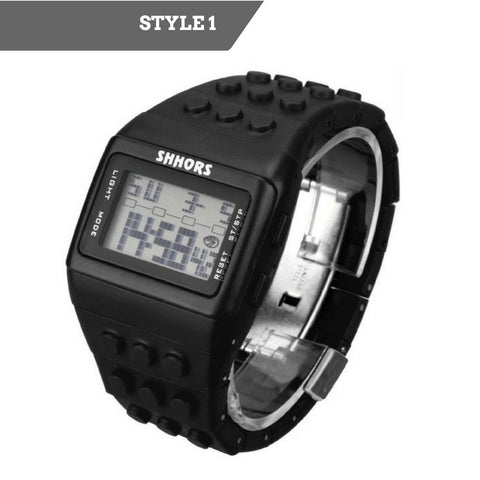 Colorful Block Digital Watch