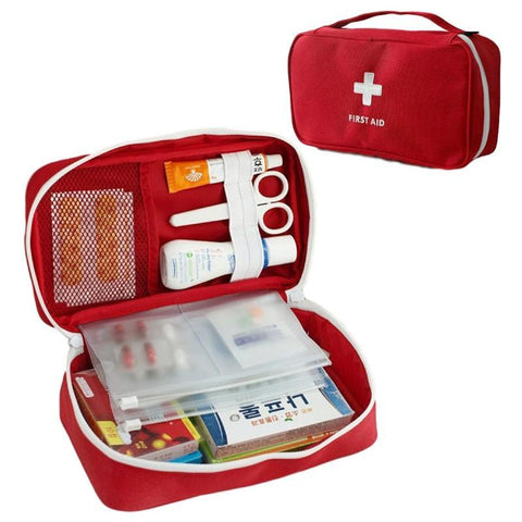 Emergency First Aid Travel Pouch