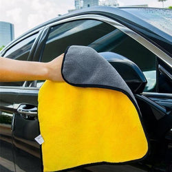 Two-sided Microfiber Car Towel