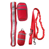Running Leash Red
