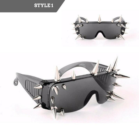 Rivet Spike Wild Rock Sunglasses
