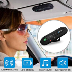 Car Visor Hands-free Speakerphone Set