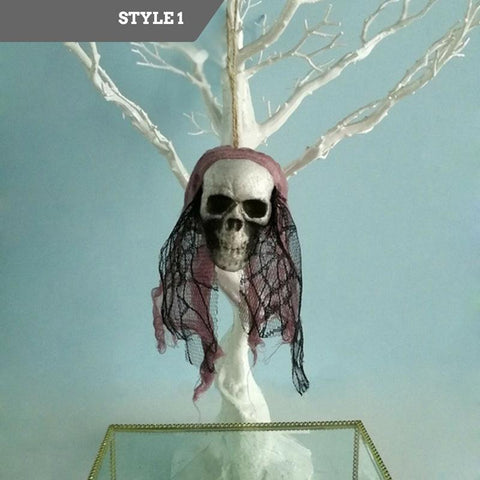 FREE Shipping - Skull Bride & Pirate Hanging Decor
