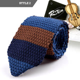 FREE Shipping - Thin Knitted Polyester Tie