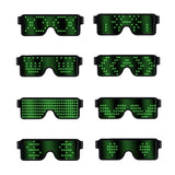 Rechargeable LED Party Glasses