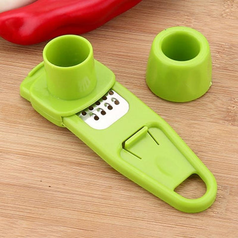 Easy Spice Grater Green
