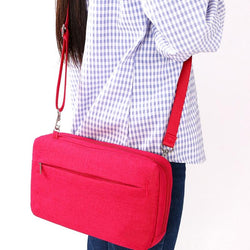 Multi Pocket Travel Satchel