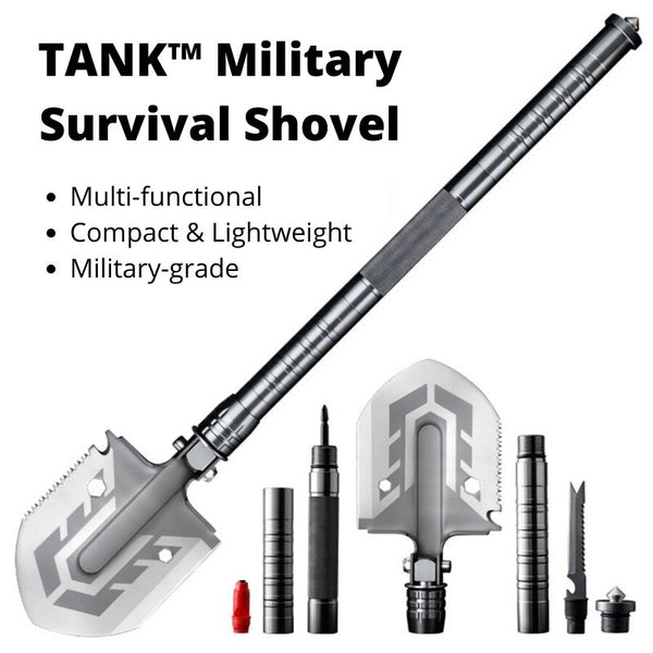 TANK™️ Military Survival Shovel