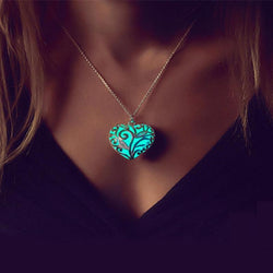 FREE Shipping - Glowing Heart Chakra Pendant
