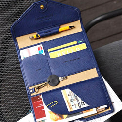 Tri-Fold Travel Wallet