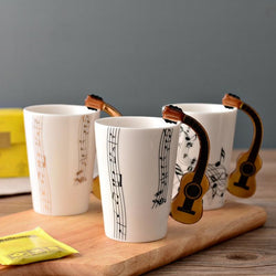 Classic Musical Coffee Mugs