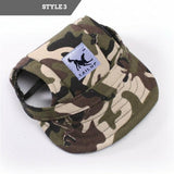 Dog Canvas Baseball Cap