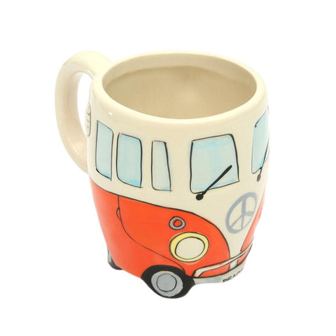 Vintage Bus Coffee Mugs