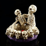 Skull Couple Lovers Ashtray