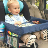 Kids on Wheels Bundle Promo: Kids Car Seat Table + Car Seat Head Support