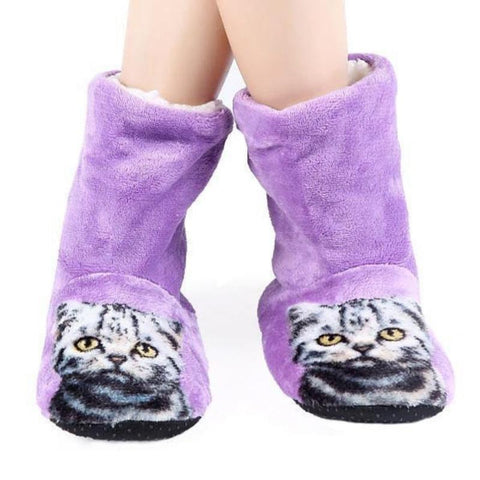 Furry Cat Booties
