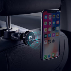 Car Back Seat Magnetic Phone Holder Hook