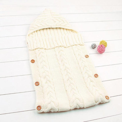 Baby Wrap Knitted Blanket