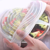 Stretchable Silicone Bowl Cover (6pcs) Set