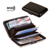 RFID Blocking Travel Card Case