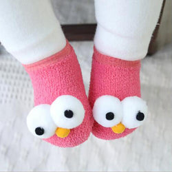 Baby 3D Eyes Socks