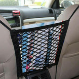 Car Organizer Bundle Promo: Car Net Storage + 3-Section Car Trunk Organizer