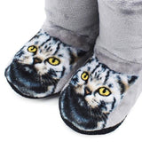 Furry Indoor Cat Booties