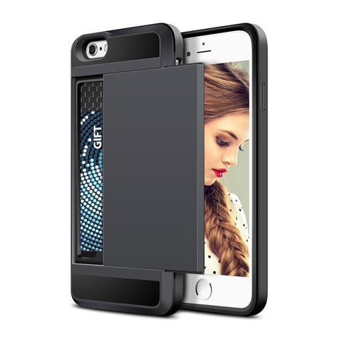 FREE Shipping - Outdoor Minimalist iPhone Case & Card Holder