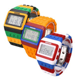 FREE Shipping - Colorful Block Digital Watch
