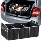 3 Section Car Trunk Folding Organizer