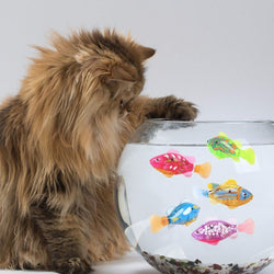 Electronic Robot Fish for Cats & Kids