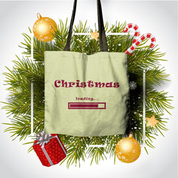 """Christmas loading..."" Classic Tote"