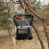 Solar Energy Heated Shower Bag