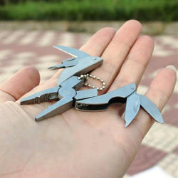 Multi-function Pliers Keychain