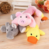 Elephant Duck Pig Pet Squeaky Toy