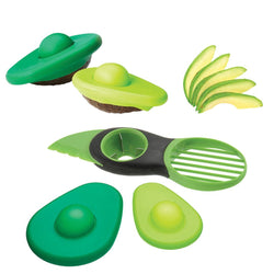 3-in-1 Avocado Slicer with Avocado Hugger Set