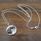 Glow in the Dark Moon Necklace
