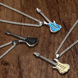 Rock Star Guitar Necklace