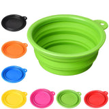 FREE Shipping - Collapsible Silicone Color Pet Bowl