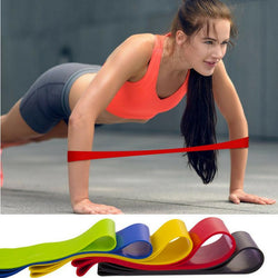 Strength Resistance Latex Band (5pcs) Set