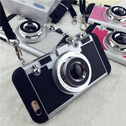 Traveler's Vintage Camera iPhone Case