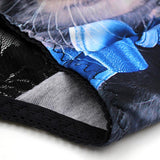 3D Cat Lace Plain Boyshorts Panties