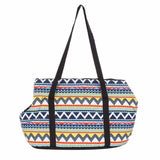 Aztec Pet Carrier Tote Bag - Small Dogs